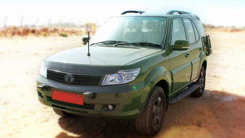 Tata Motors rolls out 1,500th Safari Storme GS800 for Indian Armed Forces: Check features