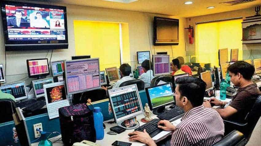 Sensex, Nifty surge to new all-time high; Jet Airways rises 3 pct; Kotak Mahindra Bank, HDFC in top gainers list