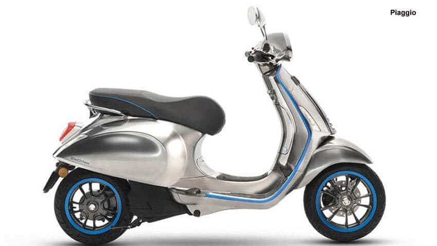 Vespa's first electric scooter goes on sale from October: Check price, features, other details