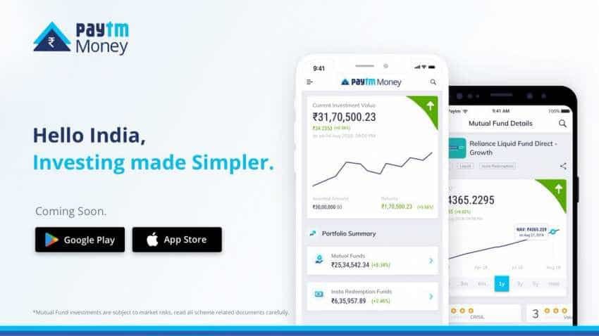 Paytm Money app launched for mutual funds; Check details here
