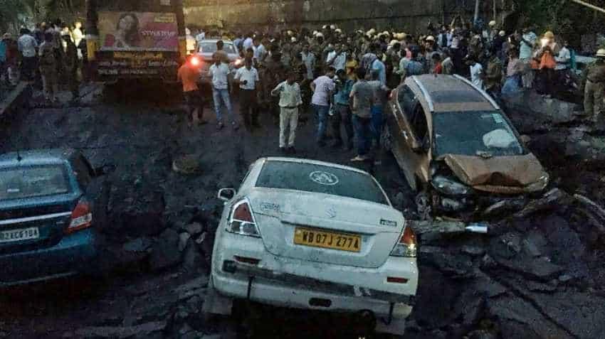 Kolkata Bridge Collapse updates: Alert for flyers; Majerhat mishap hits Railway, traffic