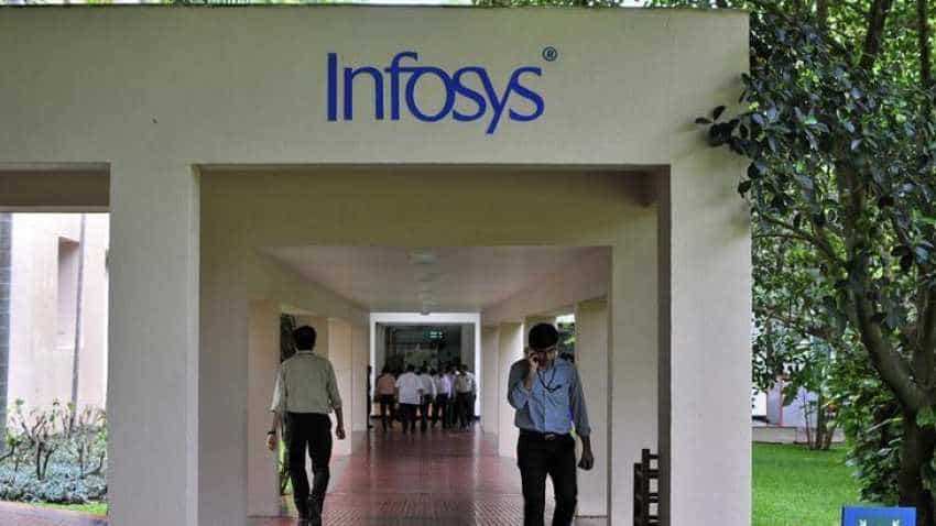 Infosys share prices surge 4.4% intraday, hit record high of Rs 748.50