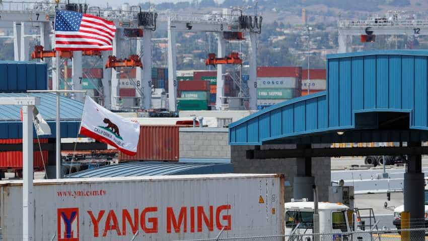US trade deficit rises to five-month high on declining exports