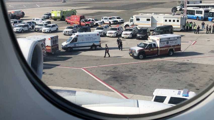 At least 19 on Emirates flight confirmed ill: New York mayor's office