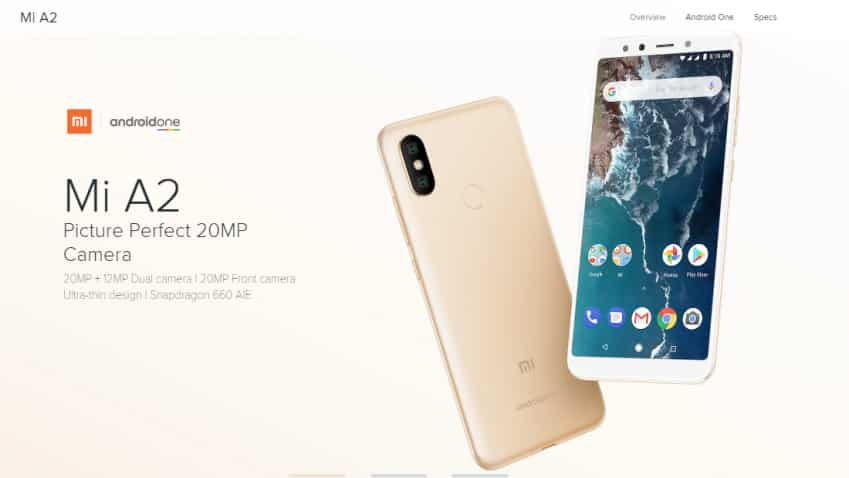 Want to buy a Xiaomi Mi A2? Here's when the sale begins; RJio cashback offer available