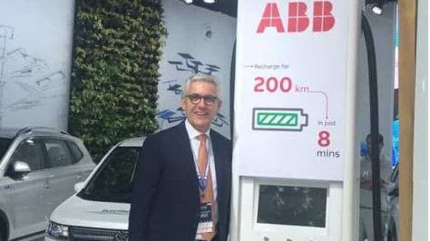 Global Mobility Summit: ABB CEO Ulrich Spiesshofer lauds India's efforts to effect e-mobility revolution