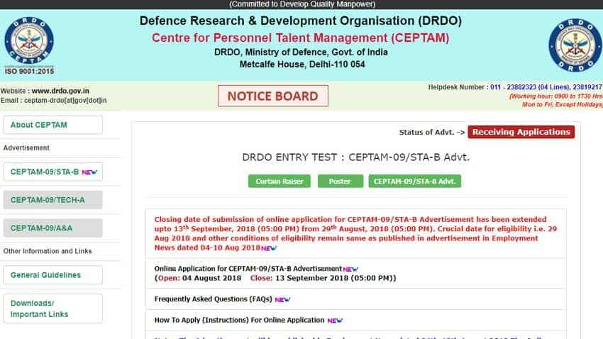 7th pay Commission pay matrix: Top jobs available paying Rs 50,000 salary; check DRDO CEPTAM 9 recruitment 2018 on drdo.gov.in