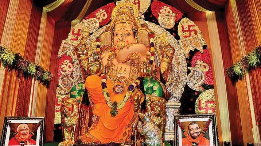 Ganesh Chaturthi: Mumbai's richest Bappa! With 68 kg gold and 327 kg silver, this Ganpati event is insured for Rs 265 crore