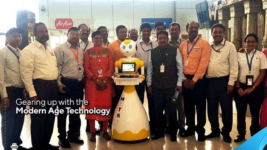 Chennai Airport takes next step in aviation, deploys robots to greet you