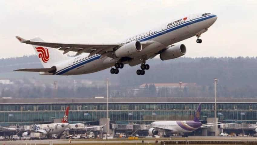China has network of 844 international air routes