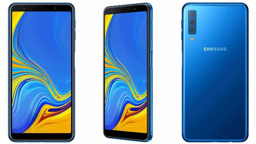 Samsung launches Galaxy A7 featuring triple camera, infinity display; This is what the phone is all about
