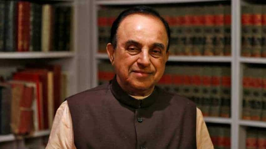 Why is Rupee falling?  Because currency is exiting country in form of black money: Subramanian Swamy
