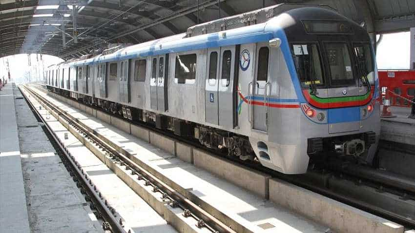 hyderabad metro ameerpet to lb nagar metro starts stations train