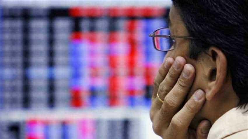 Sensex falls 537 pts, Nifty below 11,000 as banks, auto stocks melt
