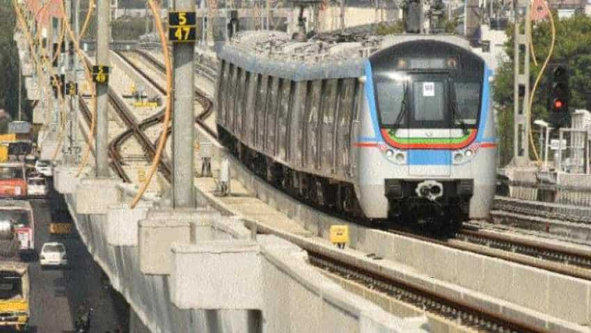 Hyderabad Metro becomes the nation's second largest Metro Rail network after Delhi