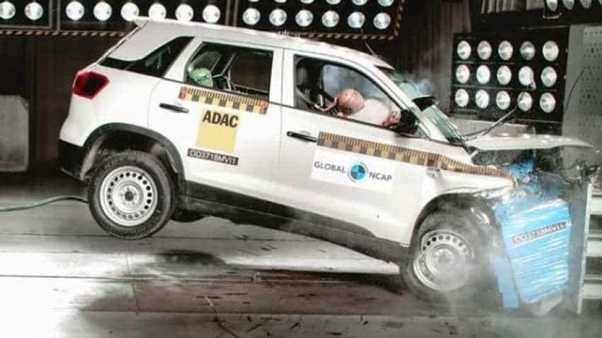 Ma Sales Tax On Cars >> Maruti Suzuki Vitara Brezza gets 4 stars in NCAP crash test; this car got zero! | Zee Business