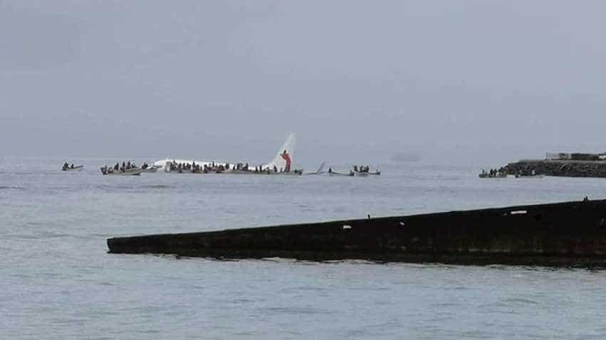 Air Niugini Boeing 737-800 crashes into sea in Micronesia; Passengers swim for their lives