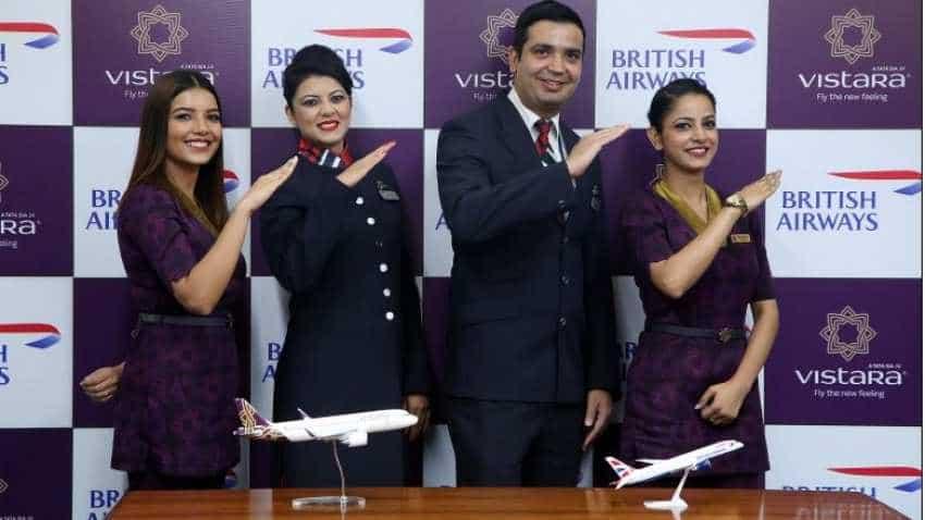 British Airways, Vistara celebrate first codeshare flight from India today