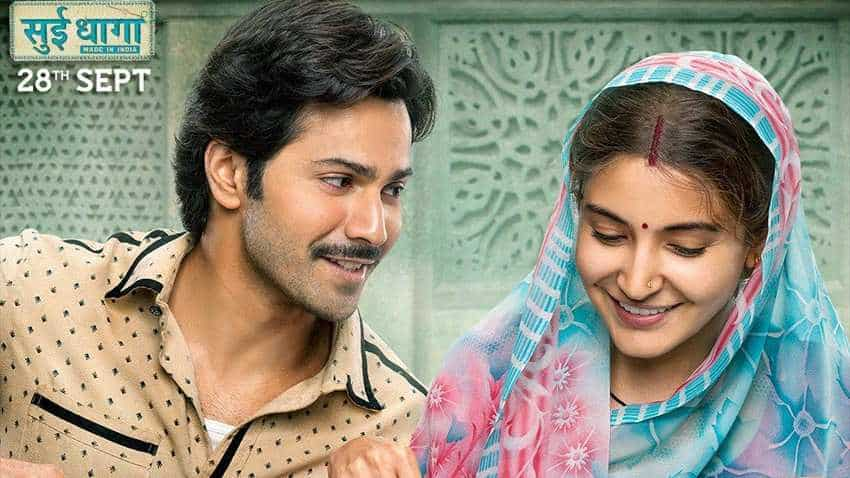 Sui Dhaaga box office collection: Anushka Sharma, Varun Dhawan power film to Rs 8.3 crore on day 1