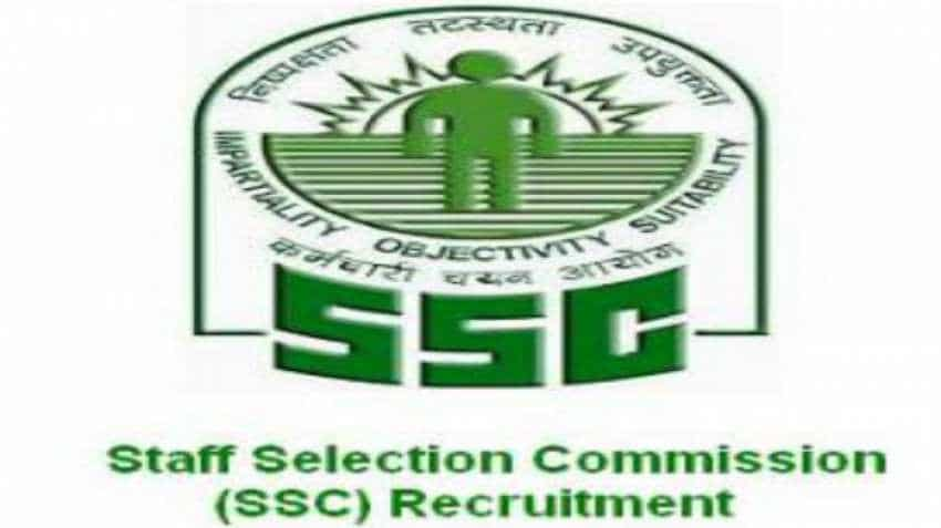 SSC recruitment 2018: Apply for Grade VI selection posts before October 5 on www.ssconline.nic.in