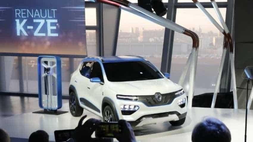 Renault K-ZE electric car concept unveiled ahead of Paris Motorshow