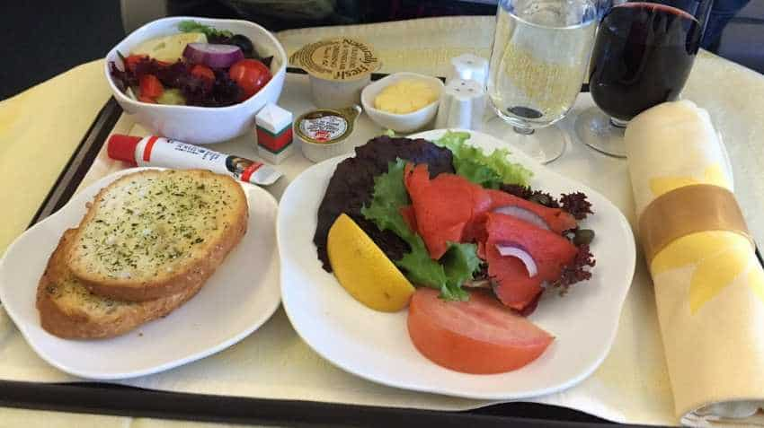 Indian flyers likely to get nutritional facts of meals served on board
