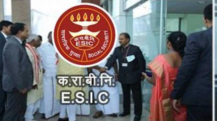 ESIC SSO Recruitment 2018: Apply for Social Security Officer/Manager Gr-II/Superintendent posts on esic.nic.in/recruitments