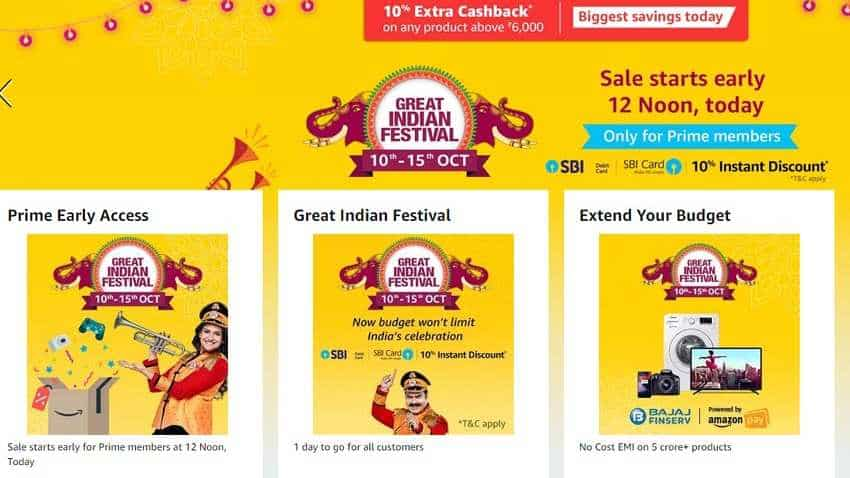 Amazon Great India Sale 2018: Get early access to all offers; here's how