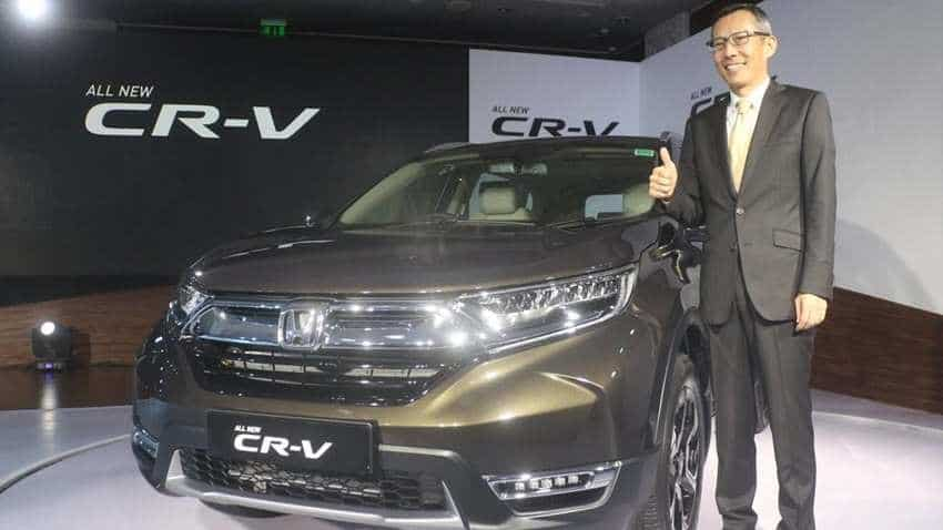 Honda launches new CR-V, prices start Rs 28.15 lakh; check details here