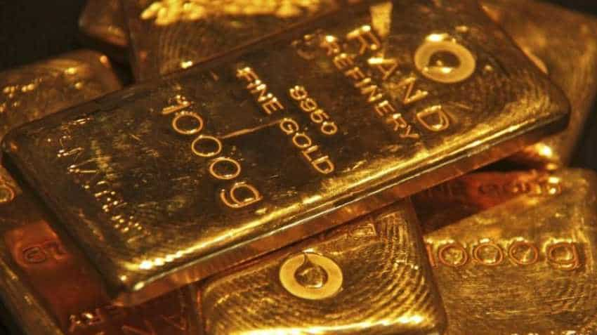 Gold inches up as retreat of bond yields weigh on dollar