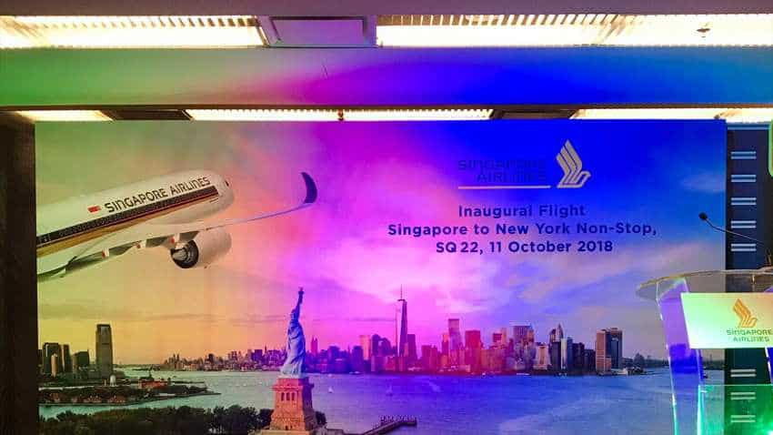 Singapore Airlines' Flight SQ22 carries out world's longest flight successfully