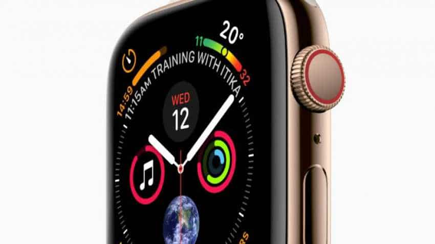 1ea5d6afc Apple Watch Series 4 sale begins from October 19  price starts at Rs ...