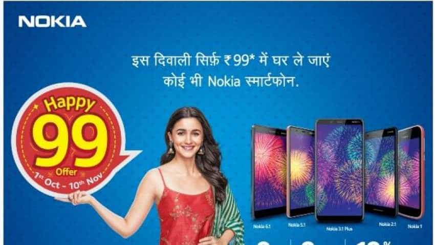 Get any Nokia smartphone for just Rs 99 in this Diwali offer! Here is how
