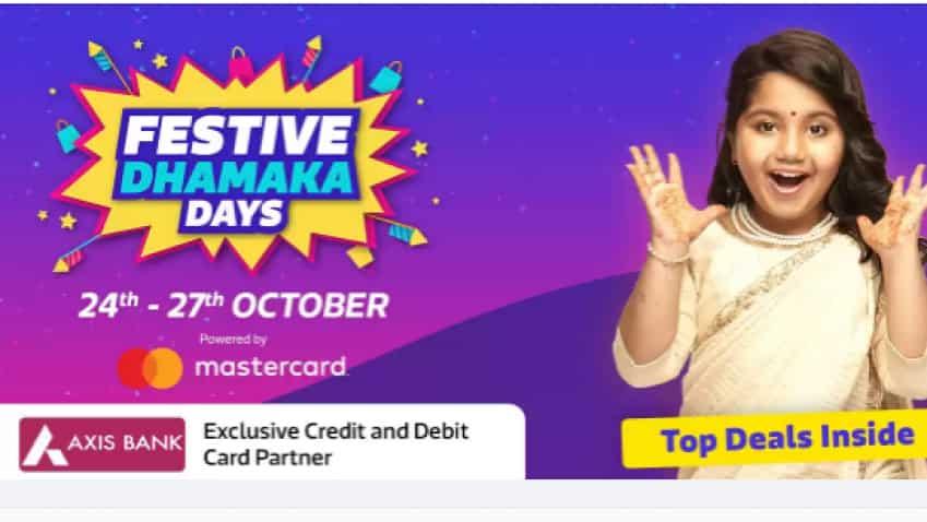 Flipkart Festive Dhamaka Days: Axis Bank, HDFC, SBI, ICICI, Bajaj Finserv, PhonePe offer exciting cashback, no cost EMI; Details here