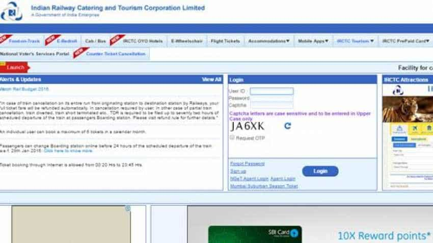 How to transfer IRCTC ticket to blood relation online