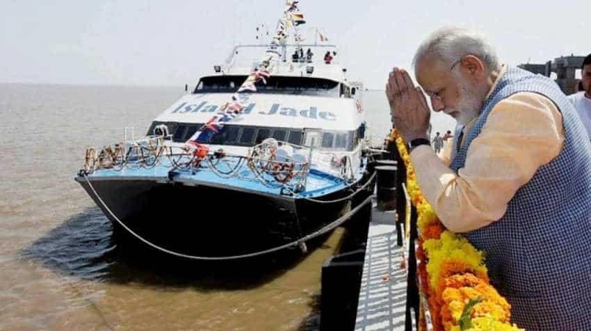 Ro-Ro services linking Saurashtra, south Gujarat start on Saturday