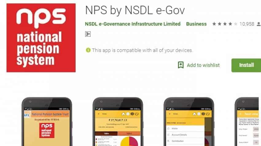 Image result for National Pension System on your fingertips! Check NPSApp features, benefits