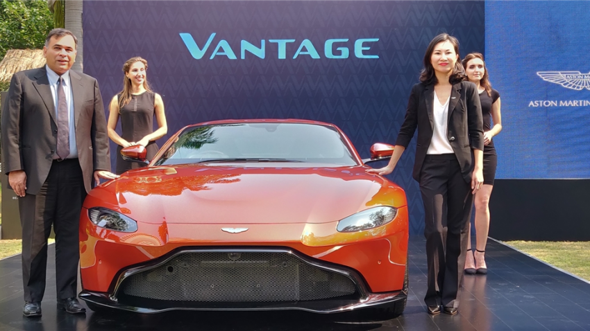 Aston Martin drives in all new Vantage in India priced at Rs 2.86 crore