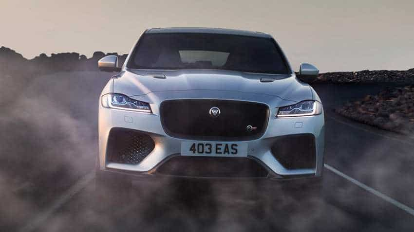 New Jaguar F-Pace Petrol launched in India today; Know price, features and specs