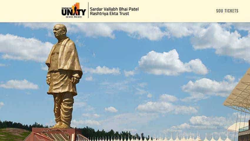 Want to visit Statue of Unity? Check online ticket booking, price, opening time and days, route map, location, other details here