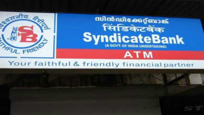 Syndicate Bank raises MCLR by up to 0.15 pc