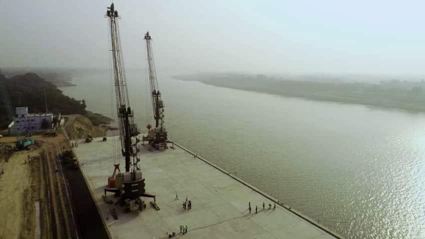PM Narendra Modi in Varanasi today, set to inaugurate India's first  'Inland Waterways Terminal' on Ganga,  plus Ring Road, Babatpur Airport Road