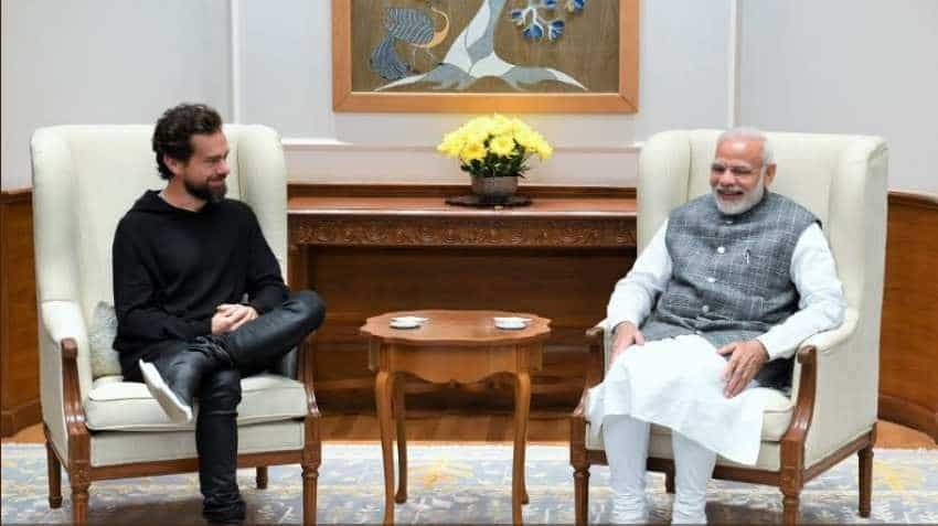 Twitter CEO Jack Dorsey meets PM Narendra Modi, discusses importance of global conversations
