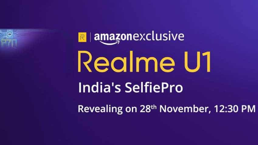 This special Realme U1 smartphone for selfie-centred folks set for India launch on this date; set to do a world's first
