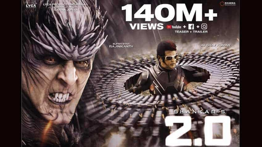 2.0 box office collection: Rajinikanth, Akshay Kumar starrer already a Rs 120 crore movie, before its release!