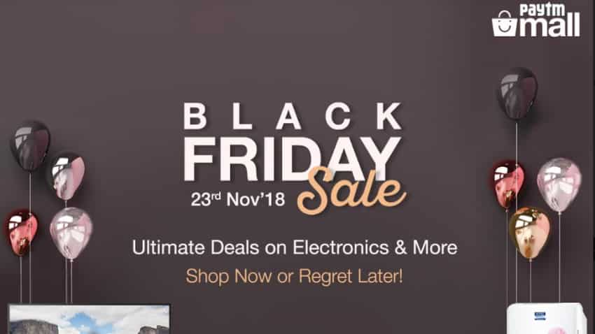 Paytm Mall Black Friday sale live now: Check out top deals in electronics, home appliances and more