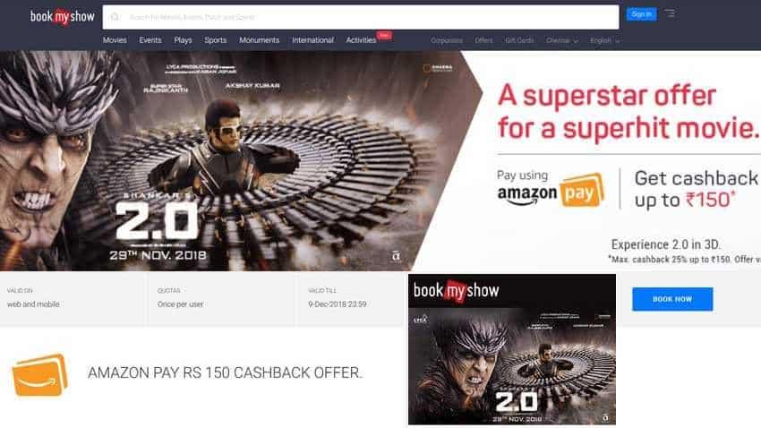 2.0 Ticket Booking: Wow! Amazon, Paytm, ICICI Bank offering big discounts for Rajinikanth, Akshay Kumar film
