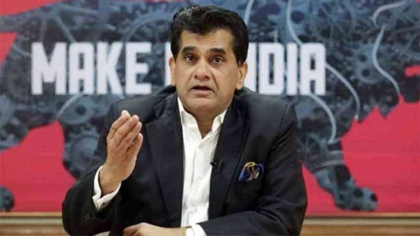 Amitabh Kant pitches for ban on usage of gensets