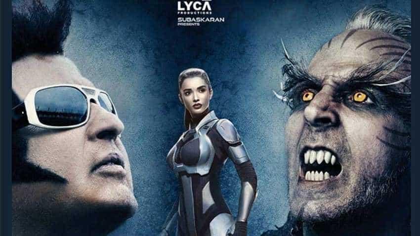 2 0 Box Office Collection Day 1 Superstar Rajinikanth Akshay Kumar Film Creates History Beats Thugs Of Hindostan Earns Rs 61 Cr