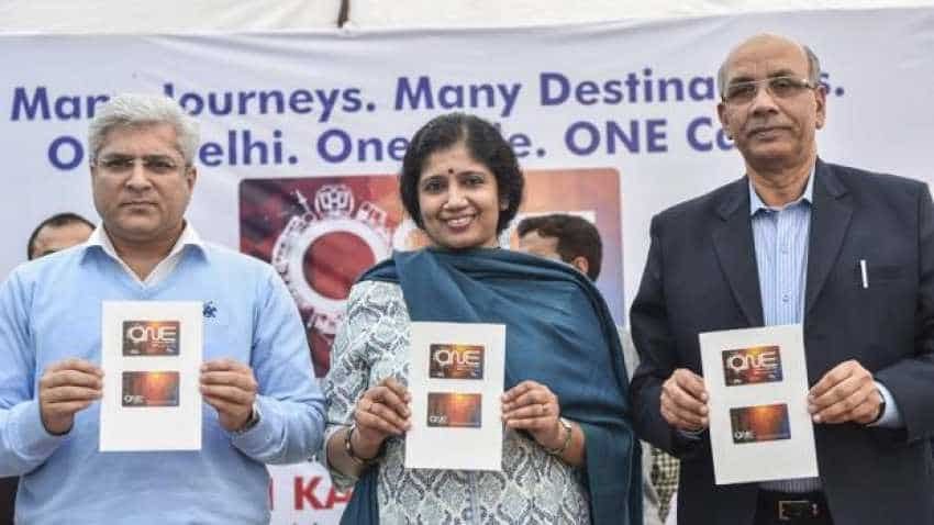 Delhi govt launches common mobility card for buses, metro trains